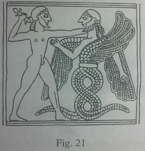 Enki et Enlil - Eden le serpent